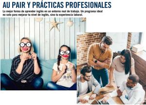 Aupair y prácticas profesionales