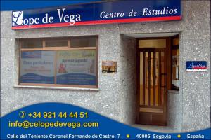 Fachada Centro de Estudios Lope de Vega
